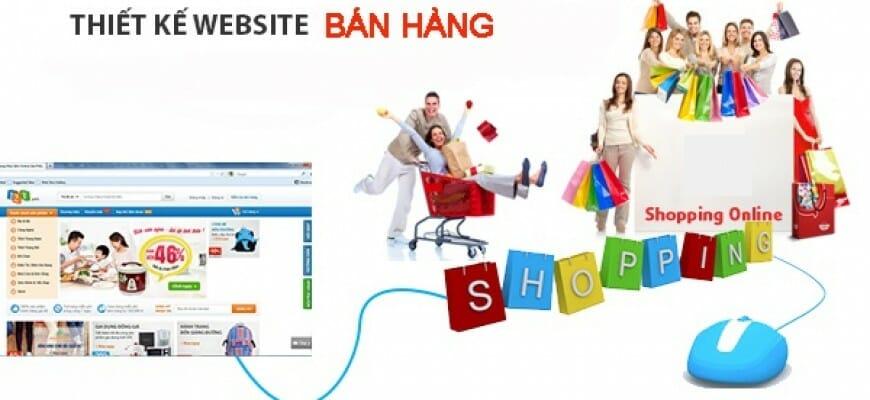 Thiết kế web bán hàng tại Bình Dương