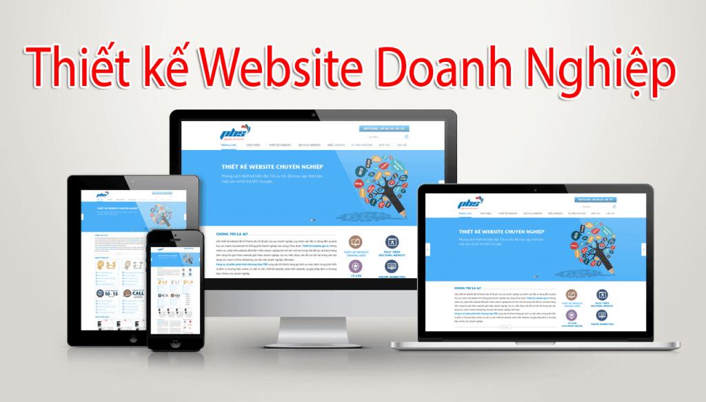 Thiết kế website cho doanh nghiệp tại Bình Dương