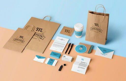 Thiết kế bộ nhận diện thương hiệu tại Bình Dương