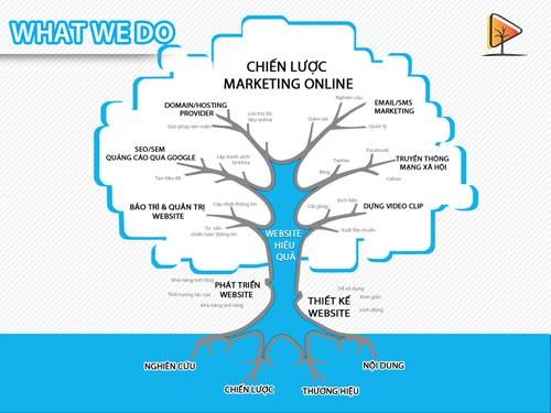 Chiến lược marketing online tổng thể