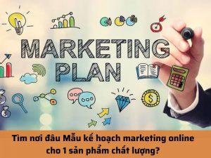 mẫu kế hoạch marketing online
